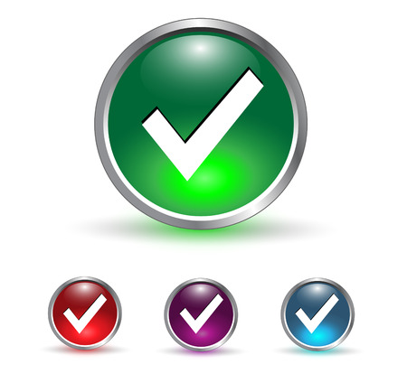 accepter: Accepter, v�rifiez le symbole ic�ne, bouton