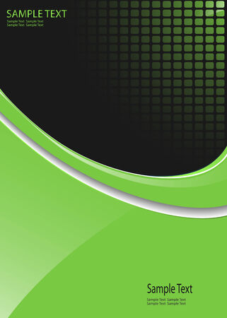 web design company: business  background green with dotted pattern