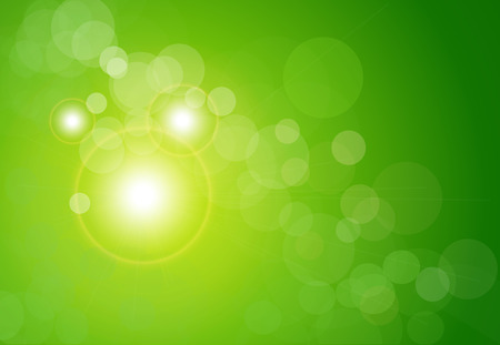 abstract background green Stock Vector - 6729822
