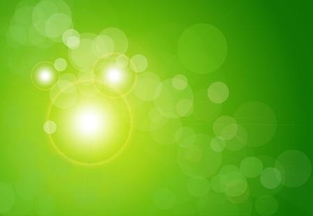 blinking: fondo abstracto verde