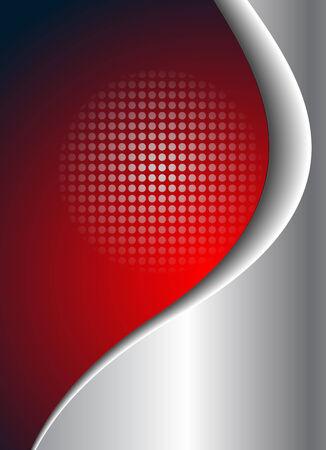 loghi aziendali: Affari sfondo rosso e argento