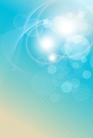 Abstract background light blue, soft and elegance Vector