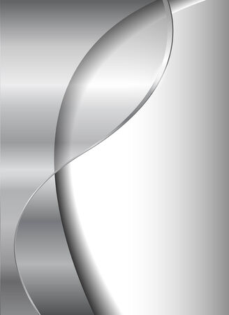 Abstract business background, grey silver metallic, EPS10 transparency. Illustration