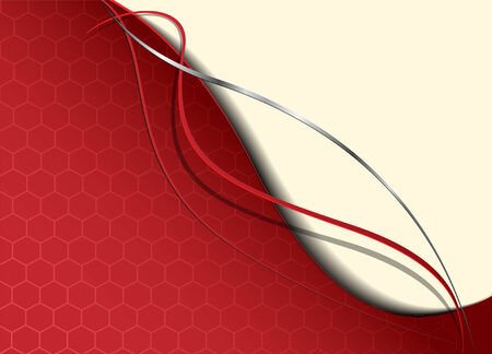 Abstract background red Stock Vector - 7055011
