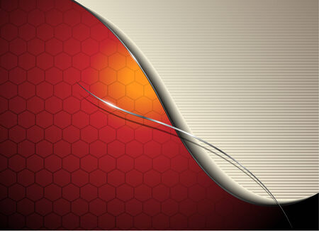 Abstract background orange red