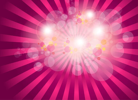 lila: abstract background burst magic lights. illustration.