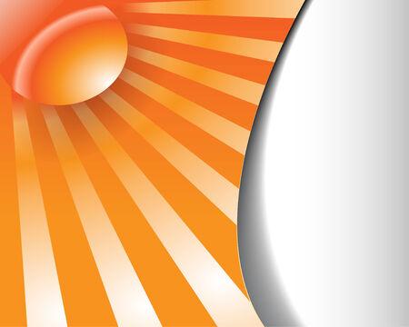 fantasy layout orange lines Stock Vector - 7098020