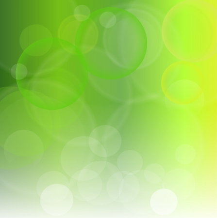 blinking: Abstract background green  lights