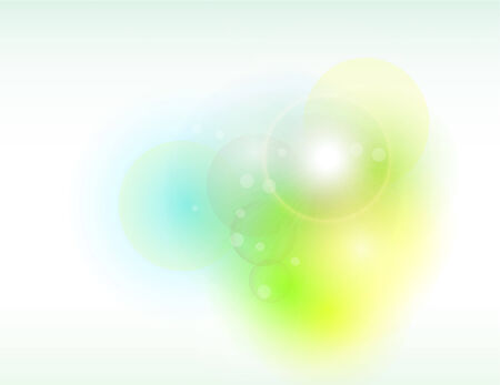 Abstract background soft blue and green. Vector
