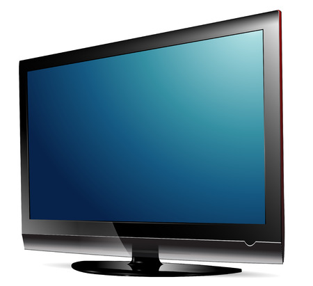 lcd plasma tv. Stock Vector - 7313849