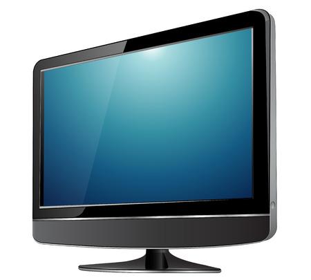 lcd tv monitor. Stock Vector - 7332639