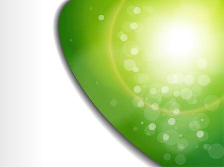 blurry lights: Luci sfocata astratto sfondo verde.