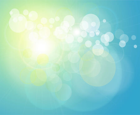 Abstract background light blue.  Vector