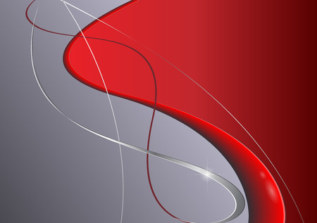 Abstract background grey and  red