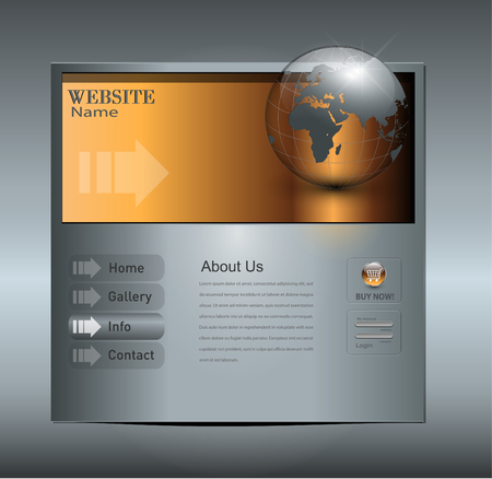 website backgrounds: Business website template