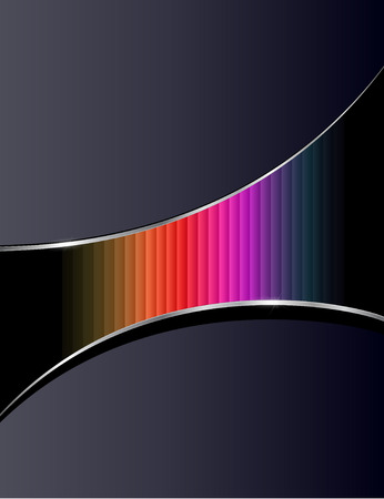 Abstract background with rainbow pattern