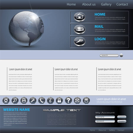 web site backgrounds: Business website template