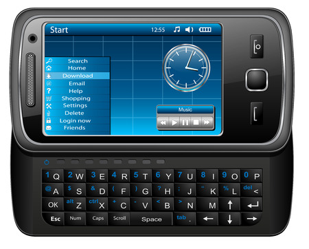 Mobile phone, smartphone  - original design, Stock Vector - 7815103