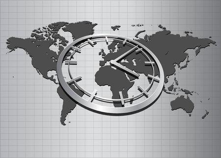 virtual space: Astratto business sfondo grigio elegante
