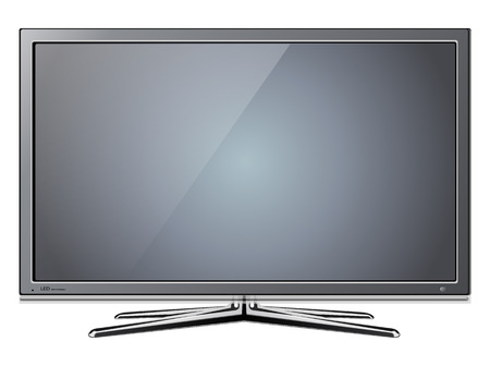 Modern TV lcd, led  Vector