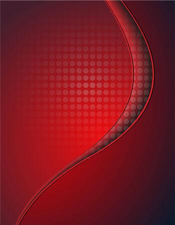Contexte abstrait, rouge avec motif pointillé