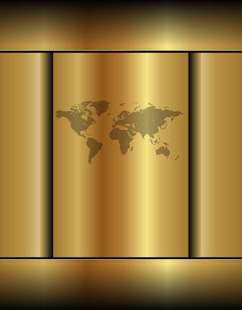 website backgrounds: Business background gold