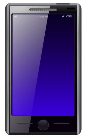 Mobile phone modern  Stock Vector - 8120917