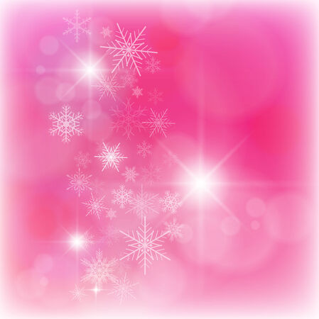 Christmas background with snowflakes Stock Vector - 8225544