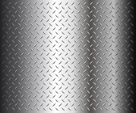 Metal diamond plate texture  Stock Vector - 8225548