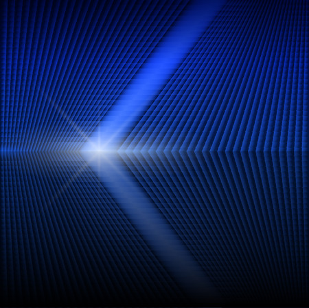 mirrored: Abstract background laser beam