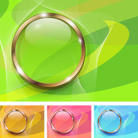 Abstract backgrounds soft and fresh,   illustration. Vector