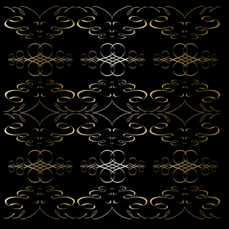 Seamless abstract ornaments Background. Vector