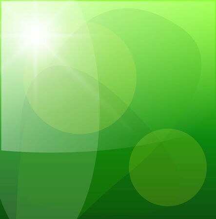 spiritual growth: Beautiful green abstract background,   illustration. Illustration