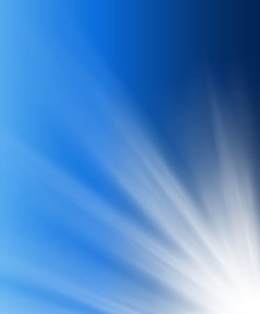 beams: Abstract background soft blue with light beams.
