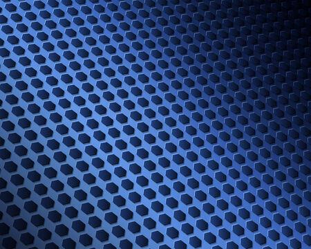 Texture de motif abstrait hexagones, illustration vectorielle.