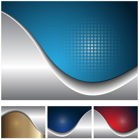 Abstract business backgrounds elegant with dot pattern, vector. Illustration