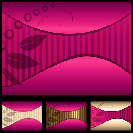 Abstract backgrounds elegant collection, vector. Vector