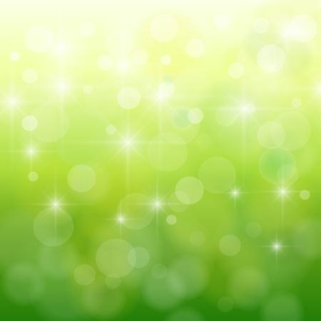 neon wallpaper: Astratto, natura bokeh sfocata luci, vettore.