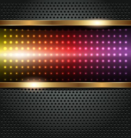 solid background: Abstract background, rainbow dots, vector.