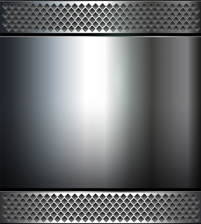 brushed steel: Background , polished metal texture.