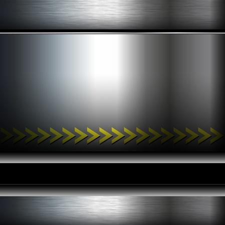 steel construction: Estratto metallico sfondo, zona di pericolo.