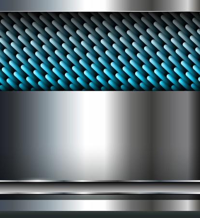 aluminio: Fondo abstracto, dise�o met�lico.