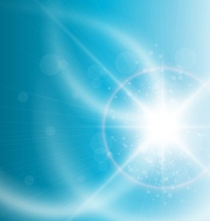 Blue background, vector illustration. Stock Vector - 10415805