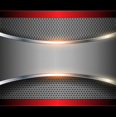 Abstracte achtergrond elegante metalen, vector.