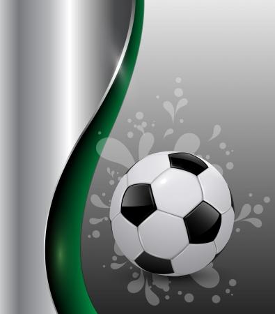 vector achtergrond van voetbal sport