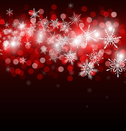 stardust: christmas background with place for new year text invitation