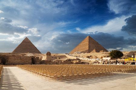 esfinge: Las Pirámides de Egipto