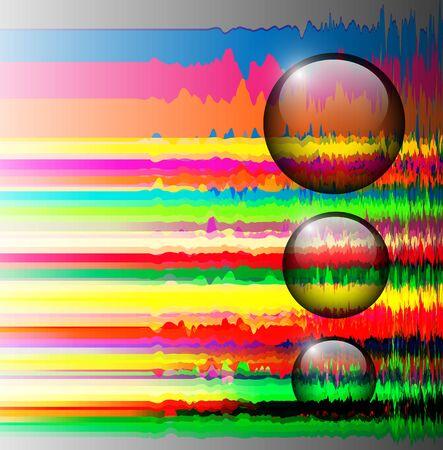Kleurrijke achtergrond met regenboog lijnen.