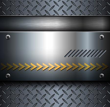 steel construction: Fondo Technology, metallico con texture piastra del diamante ..