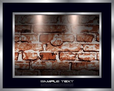 brickwall: Antecedentes con el ladrillo de la pared.